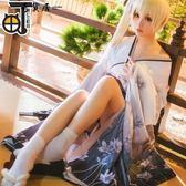 【三町目】穹妹COS服緣之空春日野穹白色和服浴衣COSPLAY裝女動漫