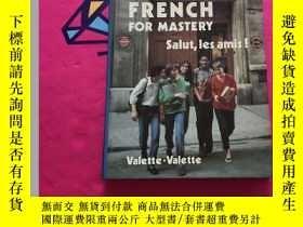 二手書博民逛書店FRENCH罕見FOR MASTERY法語熟練掌握Y234641