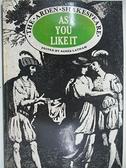 【書寶二手書T7/原文小說_AIA】As You Like it_Agnes Latham