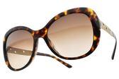 BVLGARI 太陽眼鏡 BG8199BF 504-13 (琥珀棕-漸層棕鏡片) 貴氣大鏡面款 墨鏡# 金橘眼鏡