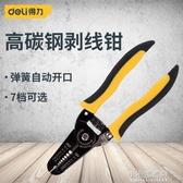 剝線鉗電工鉗子剝皮器扒線鉗子多功能扒皮鉗拔線刀 交換禮物