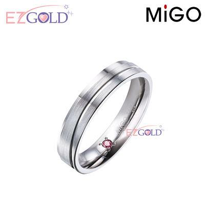 MiGO鋼飾♥天籟♥鋼飾戒指(女)