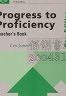 二手書R2YBv 1994年《Progress to Proficiency T