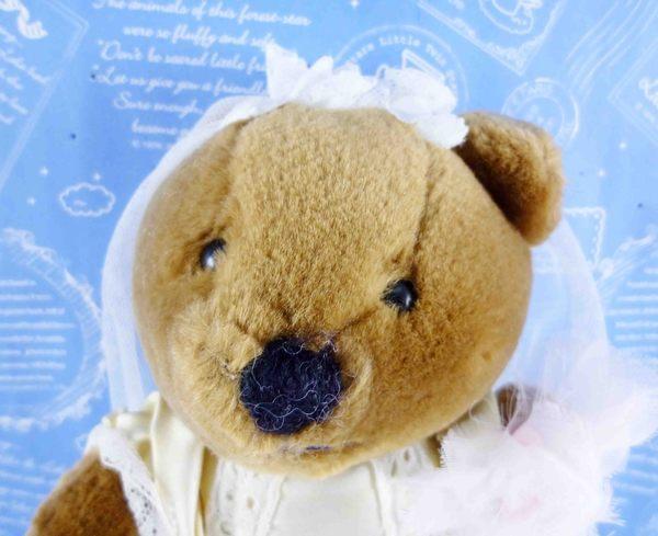 【震撼精品百貨】日本日式精品_熊_Bear~~絨毛娃娃-新娘
