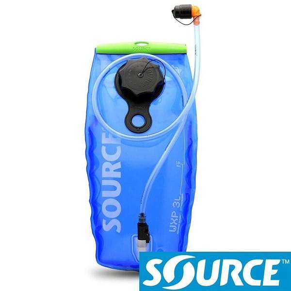 『VENUM旗艦店』【SOURCE 以色列】WXP LP 抗菌水袋 3L-藍 /耐溫60℃/大開口+加油口 2060690203