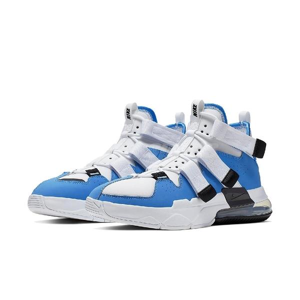【六折特賣】Nike 休閒鞋 Air Edge 270 白 藍 男鞋 大氣墊 魔鬼氈 運動鞋 【PUMP306】 AQ8764-400