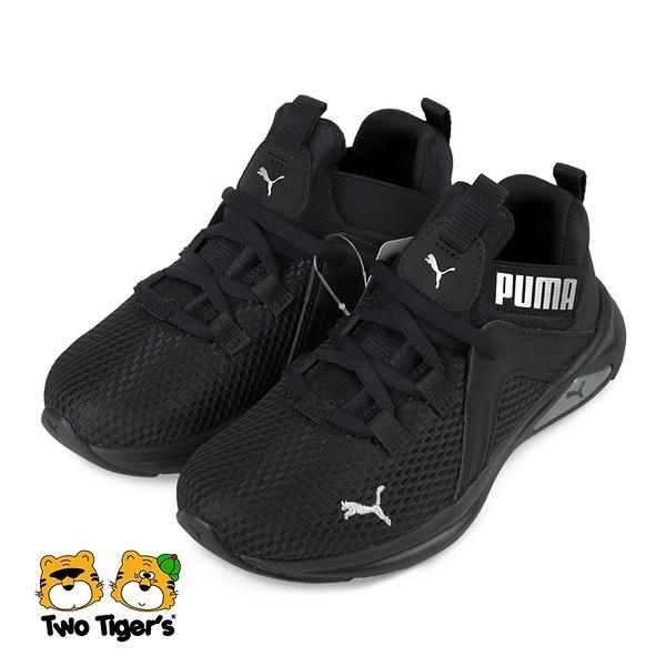 PUMA Enzo 2 Radiant AC PS 套入式 運動鞋 中童鞋 黑色 NO.R6177