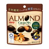 明治70%杏仁黑巧克力球(袋裝) 【康是美】