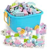 兒童大顆粒積木拼裝玩具益智3-6寶寶1-2周歲女孩7-8-10歲男孩智力igo 金曼麗莎