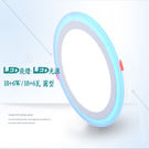 led崁燈尺寸 適用 LED芯片18+6W/18+6瓦 開孔205mm TD225 led超薄面板 免運費 廠家直送 - 圓型