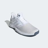ADIDAS 19FW 進階款  男網球鞋 GameCourt系列  EE3815 贈護腕【樂買網】