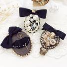 小香風胸針女復古配飾品珍珠徽章奢華外套別針扣開衫大氣胸花正韓 尾牙交換禮物