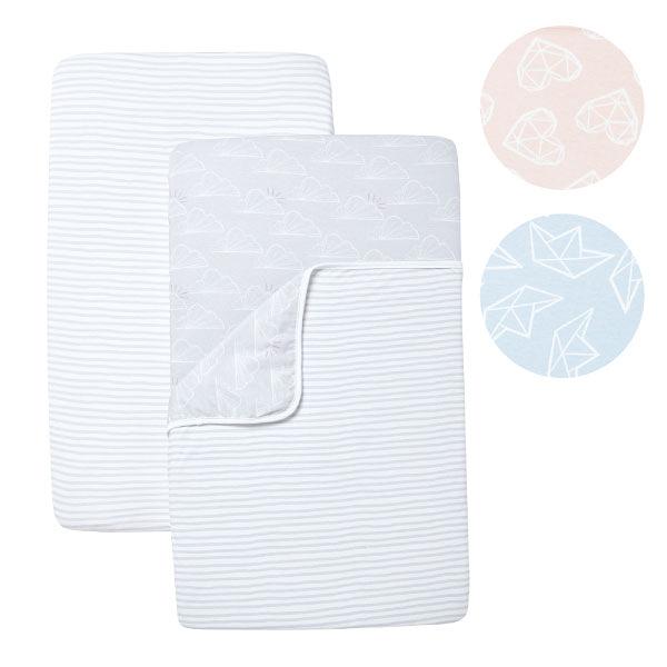 英國 Shnuggle Air成長型床邊嬰兒床0-6M床寢組(3色可選)