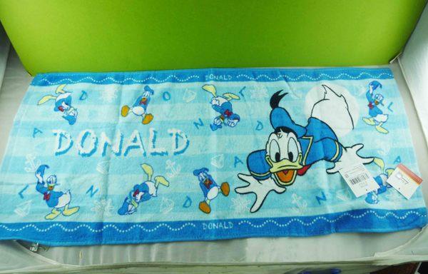 【震撼精品百貨】Donald_唐老鴨~長巾-藍滿版