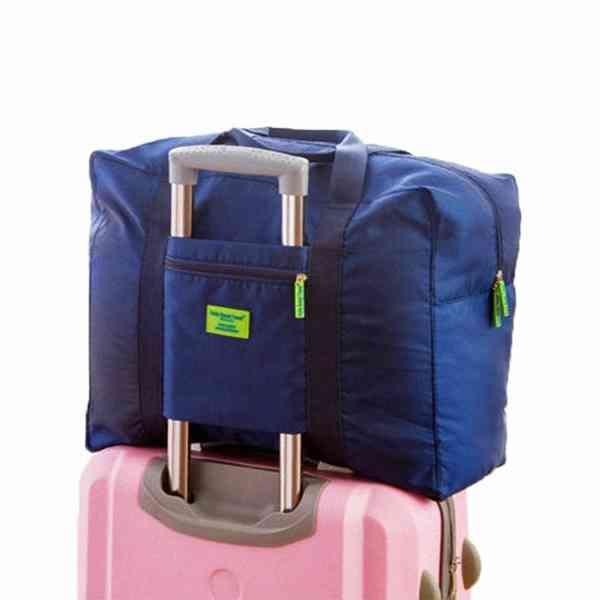 韓版 輕便可折 旅行 防水 輕便旅行包 收納包 行李箱 收納袋 購物包 整理袋 『無名』 H09103
