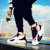 氣墊鞋男鞋春季2019新款小白鞋男士運動鞋休閒鞋男增高鞋子男