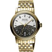 epos Passion 日夜無間24小時顯時機械腕錶-金/41mm 3390.302.22.38.32