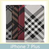 iPhone 7 Plus (5.5吋) 七號格吸合皮套 側翻皮套 插卡 支架 手機套 保護殼 手機殼 皮包 保護套