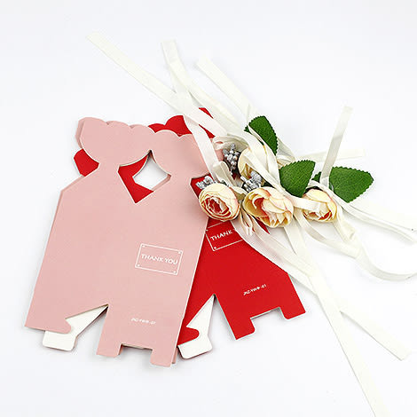 幸福婚禮小物❤小花喜糖盒❤迎賓禮/二次進場/活動小禮物/送客禮/喜糖盒