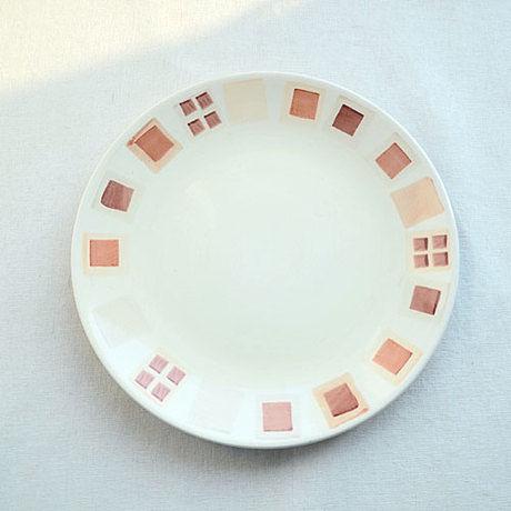 手繪陶瓷|8.6寸平盤|
