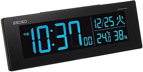 SEIKO【日本代購】精工 鬧鐘 溫濕度AC型彩色液晶系列DL305K