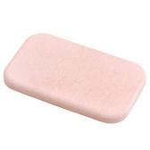 珪藻土吸水皂盤方型 粉 NITORI宜得利家居