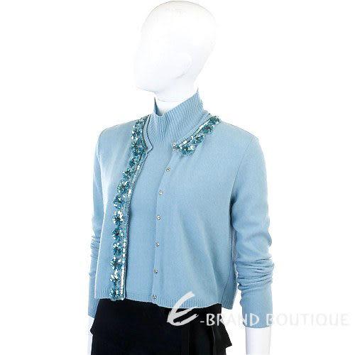 BLUGIRL 水藍色針織套頭兩件式上衣 0550069-23