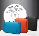 CD收納-以諾防水CD包光盤包 大容量CD盒光碟包車載64/100/200片DVD收納包 多麗絲
