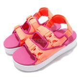 Puma 拖鞋 Platform Slide YLM 19 橘 紅 厚底 女鞋 Fenty 涼拖鞋 涼鞋【PUMP306】 36942404