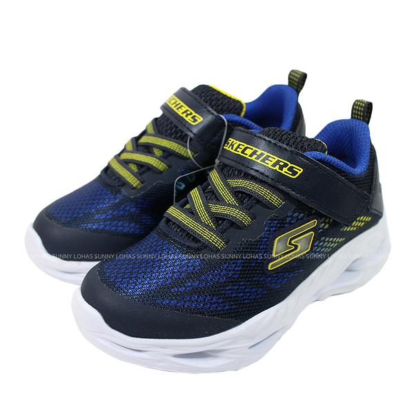 (B4) SKECHERS 男童 燈鞋 運動鞋 S LIGHTS: VORTEX-FLASH - DENLO 400030NNVYL 帥氣 男孩布鞋 [陽光樂活]