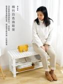 北歐白色換鞋凳家用門口創意進門小鞋架可坐式簡約實木穿鞋凳鞋櫃  LannaS  YTL