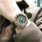 SEIKO 精工 / 4R35-04L0G.SRPF83K1 / PROSPEX 鮪魚罐頭 潛水錶 機械錶 日期視窗 矽膠手錶 墨綠色 43mm