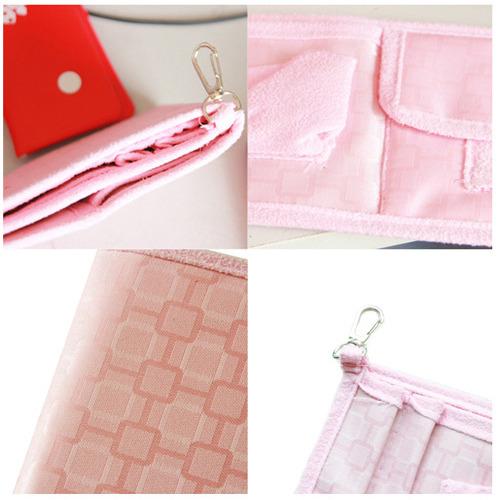 告別包包凌亂--聰明收納袋中袋-粉色
