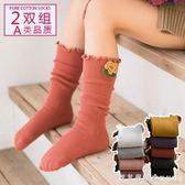 堆堆襪春秋夏薄款寶寶嬰兒襪子韓國女童公主兒童純棉外穿中筒襪 漾美眉韓衣