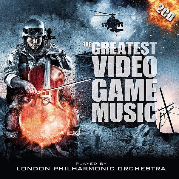 停看聽音響唱片】【CD】LONDON PHILHARMONIC ORCHESTRA - THE GREATEST VIDEO GAME MUSIC 1 & 2 (2CD)