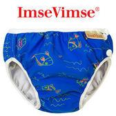 [衣林時尚] 瑞典 Imse Vimse 游泳尿布 兒童泳褲 藍色小魚