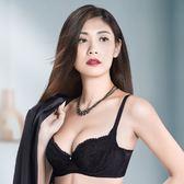 華歌爾-X美型系列D-E罩杯塑身機能內衣(黑)NB4522-BL