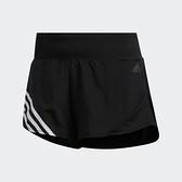 Adidas Run It 3-Stripes女款黑色經典三線運動短褲-NO.FM6660