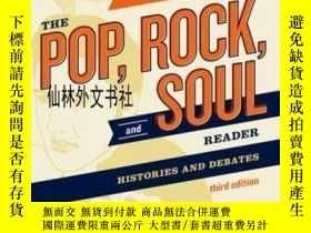 二手書博民逛書店【罕見】The Pop, Rock, And Soul Reader: Histories And Debates
