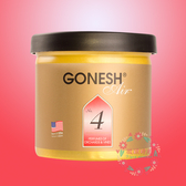 GONESH 空氣芳香膠 #4 藤蔓果園【GO000】(四號 No.4 固體芳香罐) 78g 日本製造 原裝進口