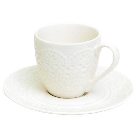 咖啡杯組 LACE LH3923-100 NITORI宜得利家居