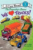 (二手書)An I Can Read Book Level 1: Berenstain Bears We Love Trucks!