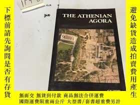 二手書博民逛書店英文原版:The罕見Athenian Agora 雅典廣場 書口