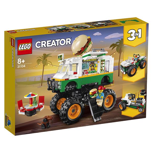 樂高積木 LEGO《 LT31104 》創意大師 Creator 系列 - Monster Burger Truck╭★ JOYBUS玩具百貨
