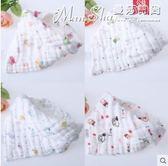 口水巾嬰兒三角巾純棉紗布圍嘴寶寶圍巾新生兒童圍兜  曼莎時尚