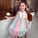 女童洋裝夏裝新款兒童韓版吊帶裙小女孩洋氣仙女背心公主裙 夏沫之戀