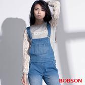 BOBSON 女款搭配立體蕾絲袖上衣(35073-82)