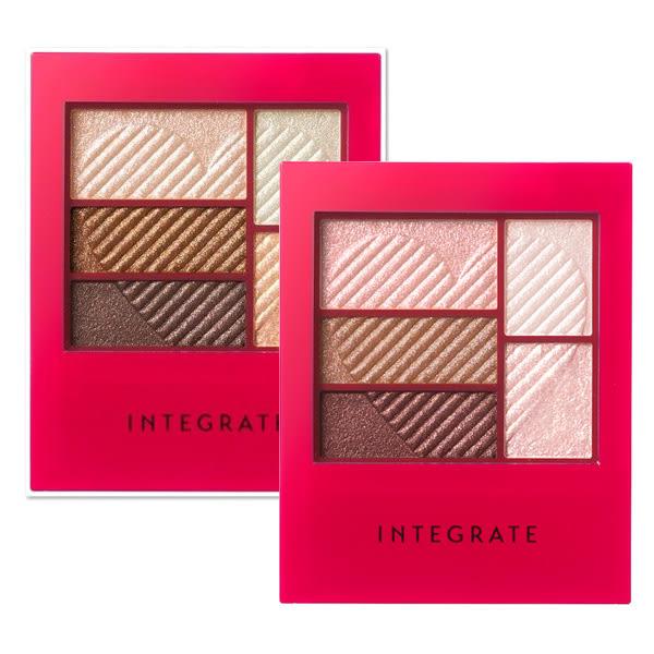 INTEGRATE 三度漸層光綻眼影盒(共5色)◆四季百貨◆