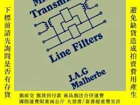 二手書博民逛書店Microwave罕見Transmission Filters