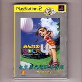 【PS2原版片 可刷卡】☆ 全民高爾夫4 GOLF4 ☆Best日文亞版全新品【出清特賣會】台中星光電玩